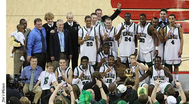 Madison Memorial Spartans Boys 2011 Basketball Champs