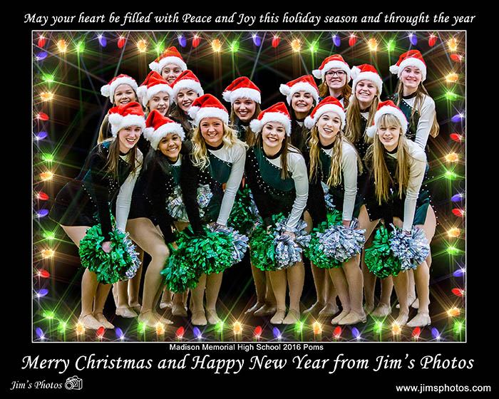Memorial Poms Holiday Show